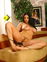 All-natural busty babe Jelena Jensen in her sexiest, most sensual photo set yet. Perfect breasts, butt and a face to die for, Jelena's fame is we